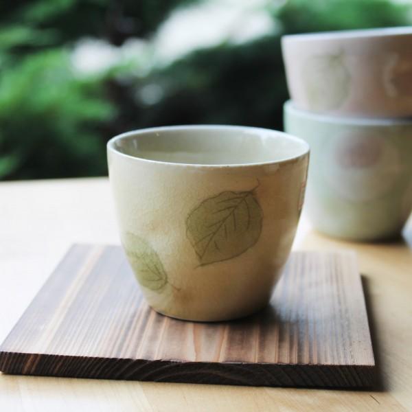 Teeschale blassgelb, 150ml - Aktionsartikel