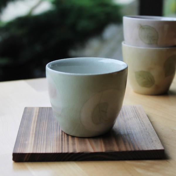 Teeschale blassgrün, 150ml - Aktionsartikel