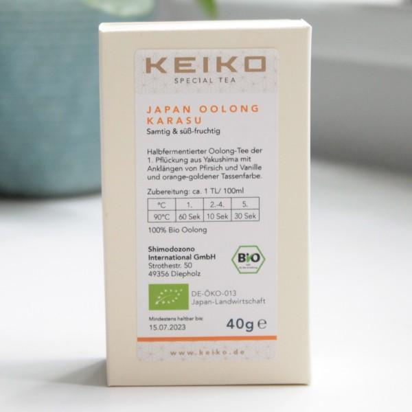 KEIKO Japan Oolong Karasu - Bio Japan Oolong