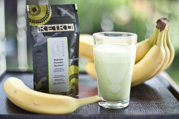 Matcha-Banane