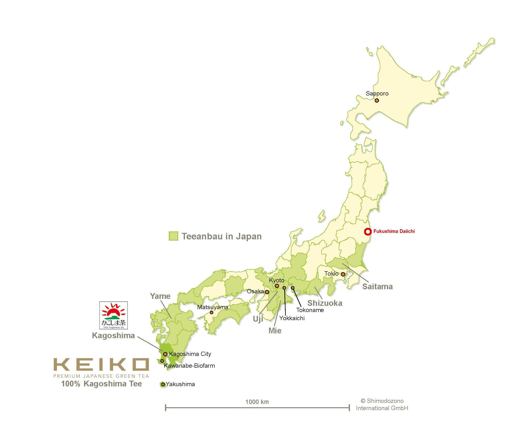 Japan Karte